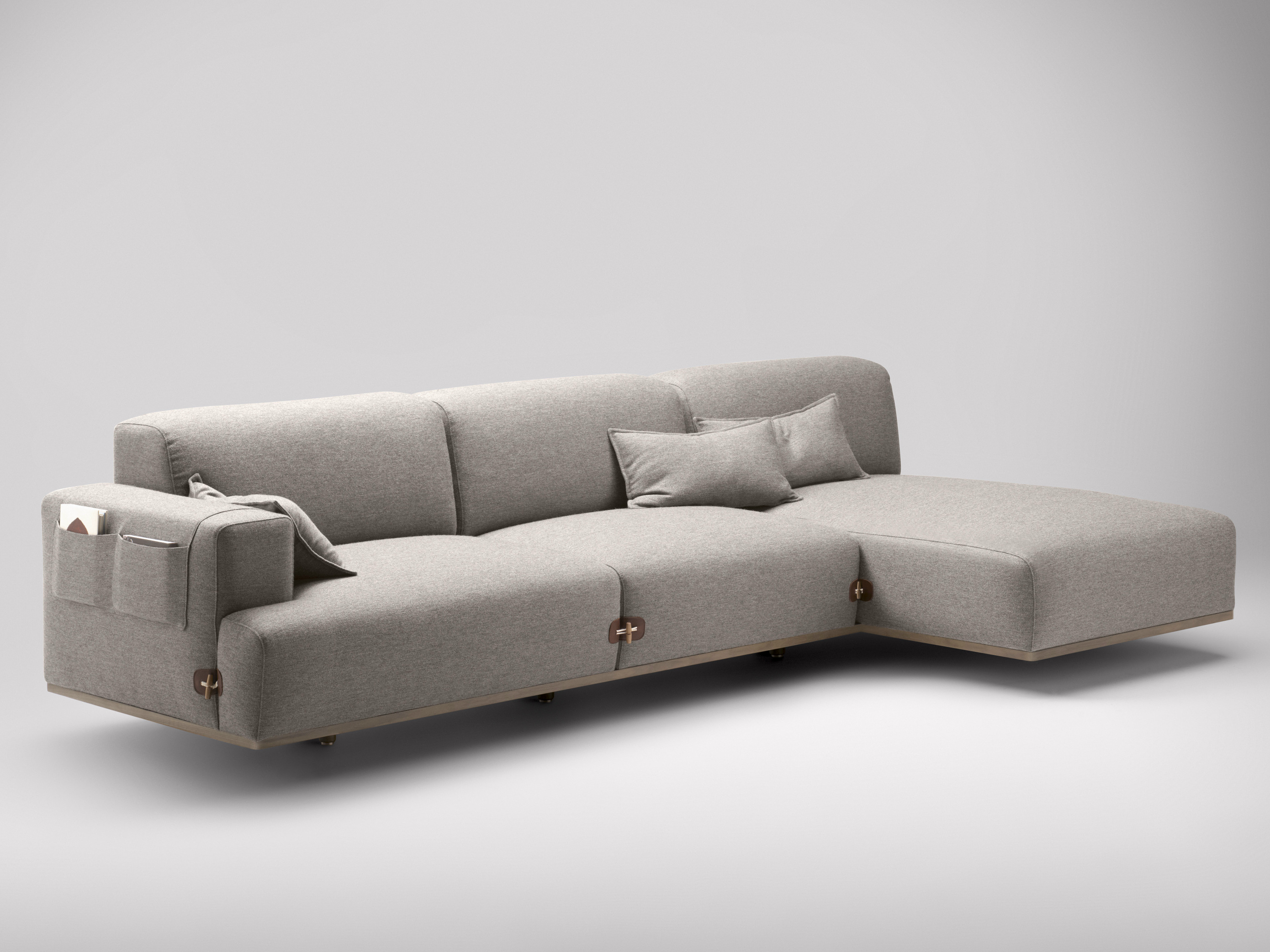 Duffle canap avec m ridienne by bosc design jean louis for Places to get couches