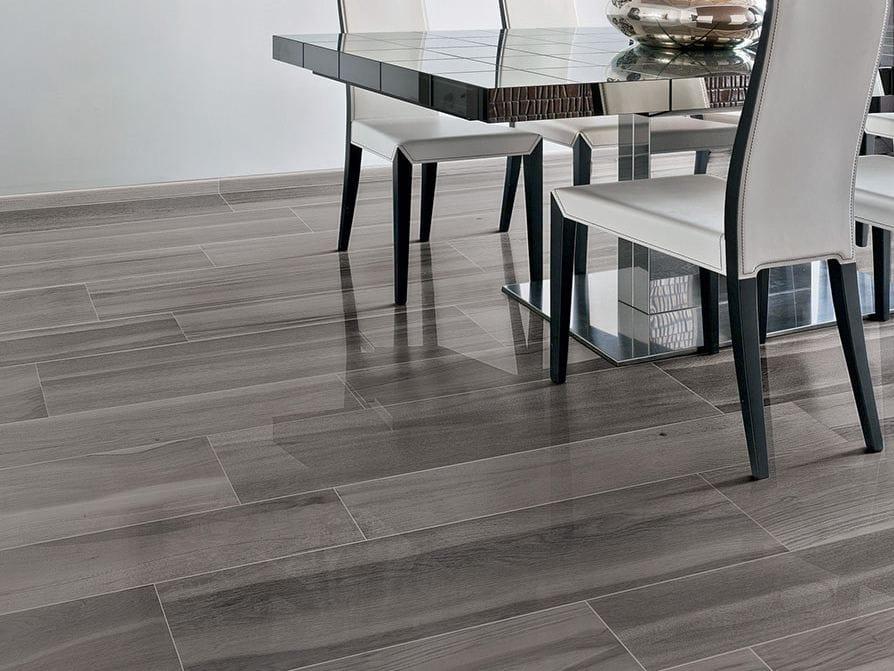 Pavimento/rivestimento in gres porcellanato smaltato effetto legno MAXIWOOD LIVING Palissandro ...