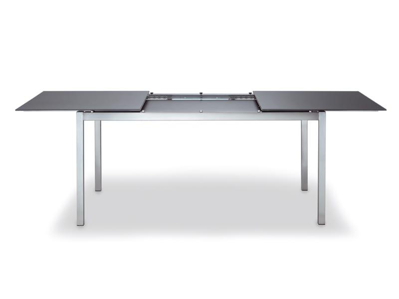 Gartenmbel Tisch Ausziehbar Trendy Gartentisch Ausziehbar Metall