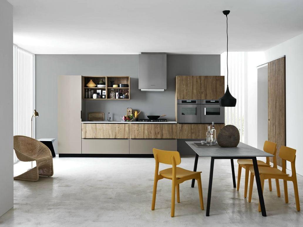 Linear fitted kitchen ariel composition 3 by cesar for Nicoloro arredamenti catalogo 2017