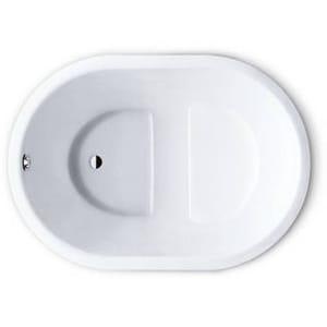 Vasca da bagno con seduta ovale da incasso KUSATSU POOL by Kaldewei Italia design Sottsass Associati