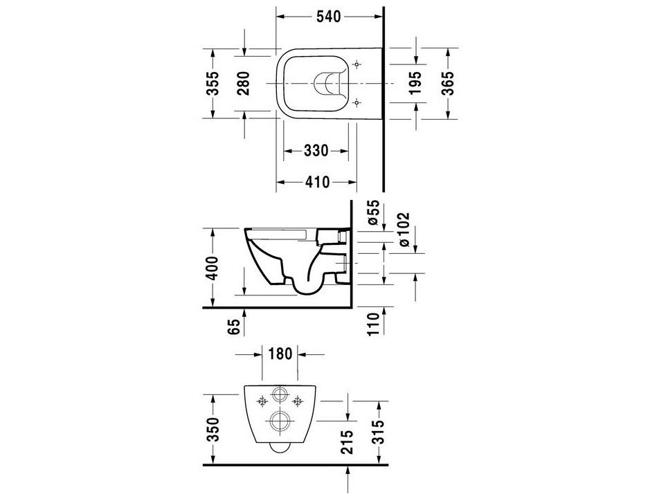 dimension d un toilette suspendu dimension d un wc. Black Bedroom Furniture Sets. Home Design Ideas