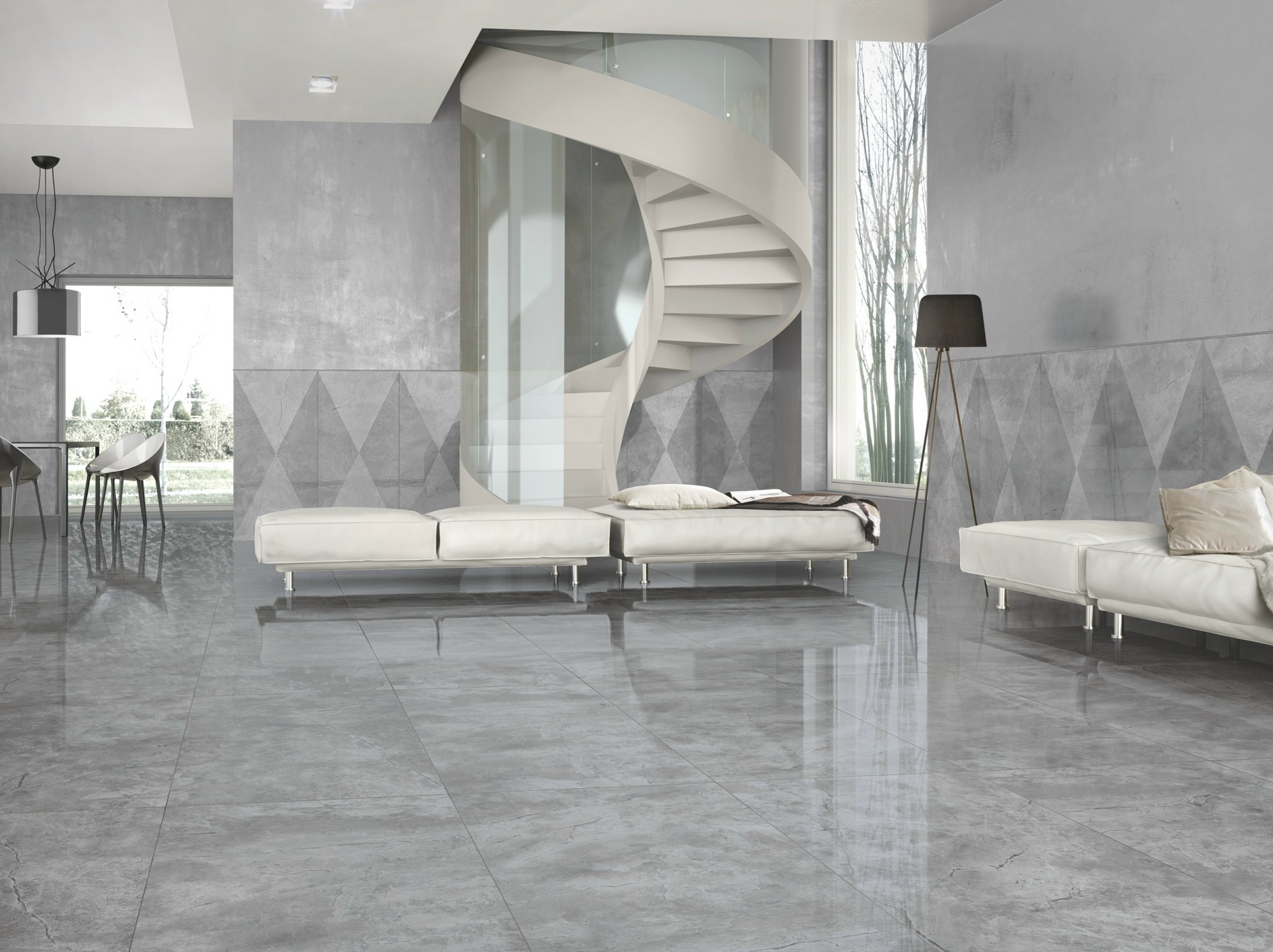 Awesome grey marble effect floor tiles contemporary flooring awesome grey marble effect floor tiles contemporary flooring dailygadgetfo Gallery