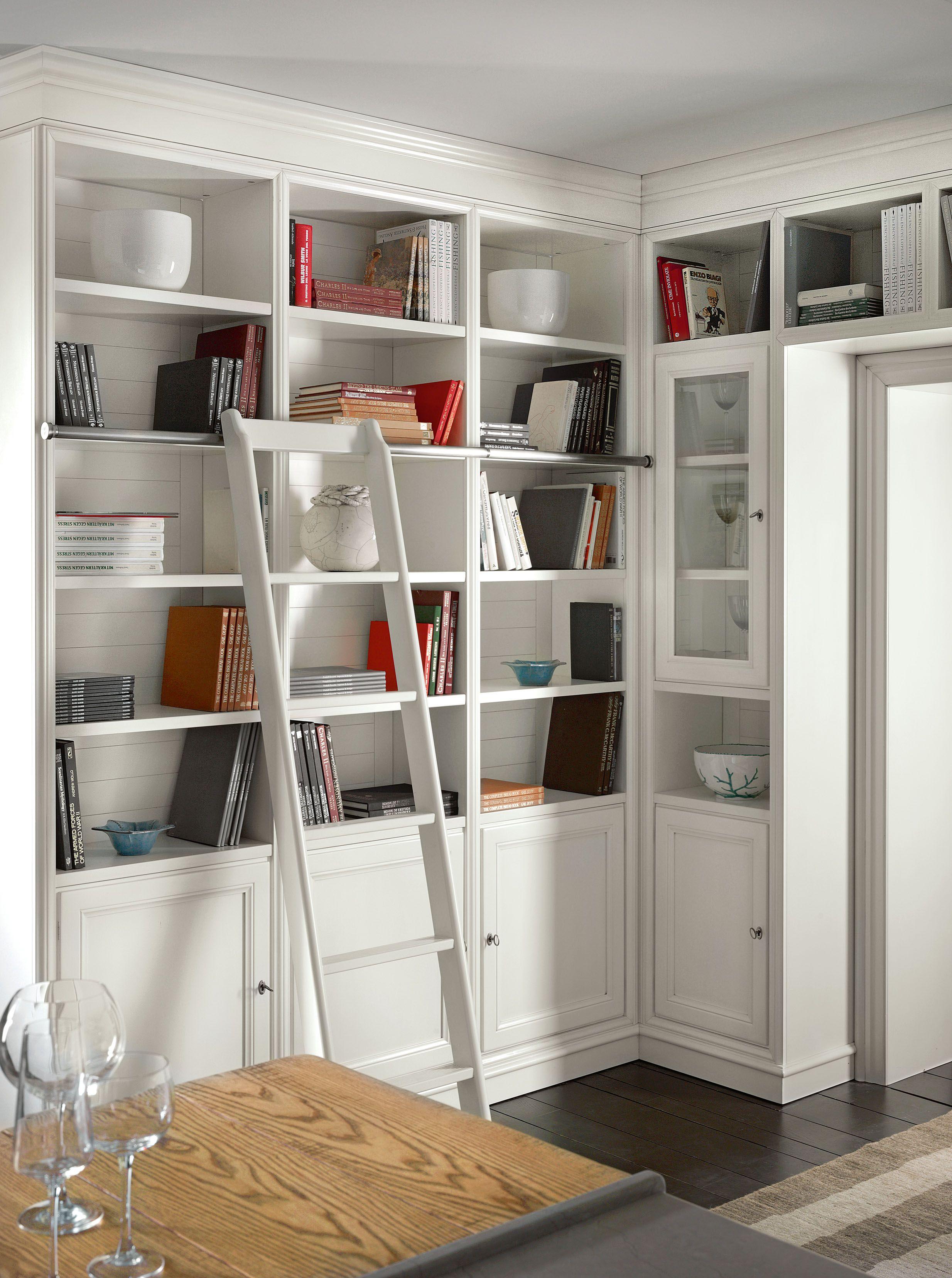 Libreria a parete modulare calendario living by l 39 ottocento - Librerias modulares ...