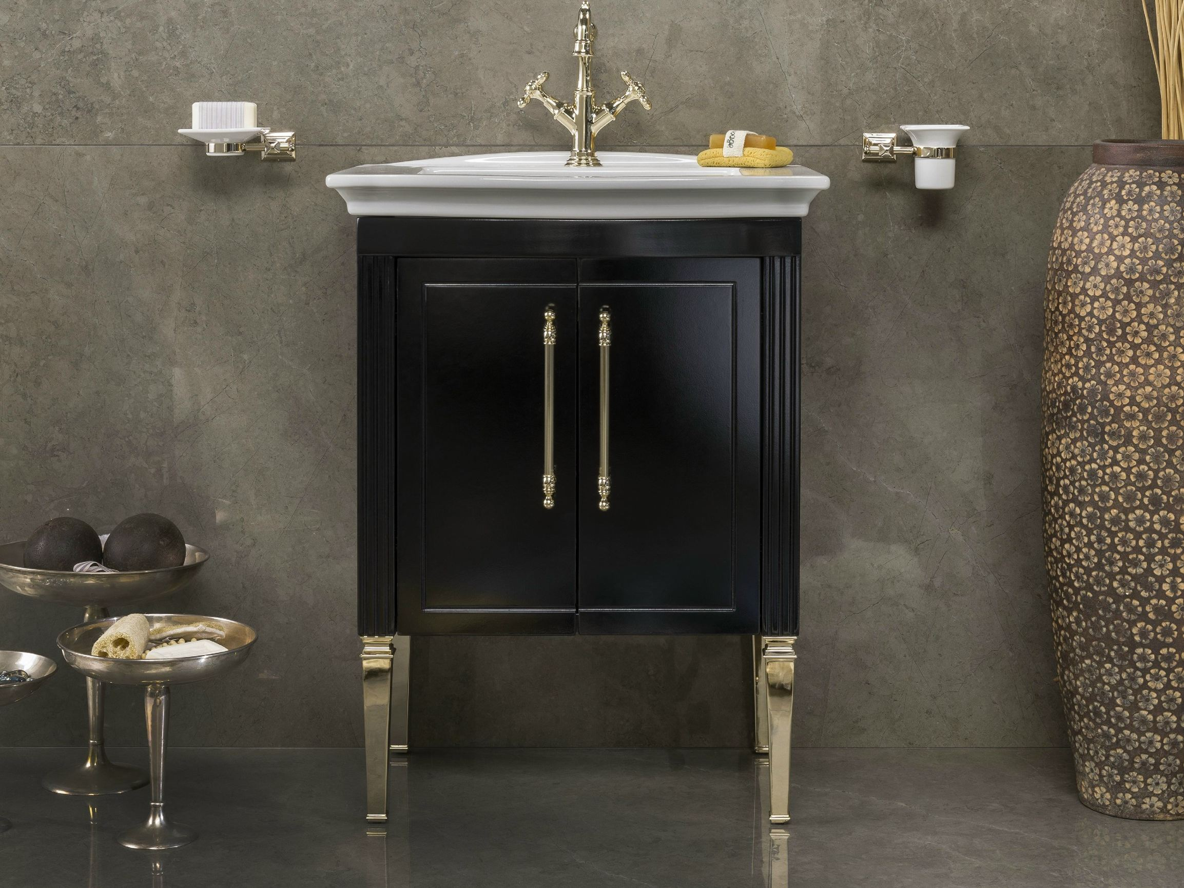 CHARME VINTAGE 2 | Meuble pour salle de bain By BLEU PROVENCE