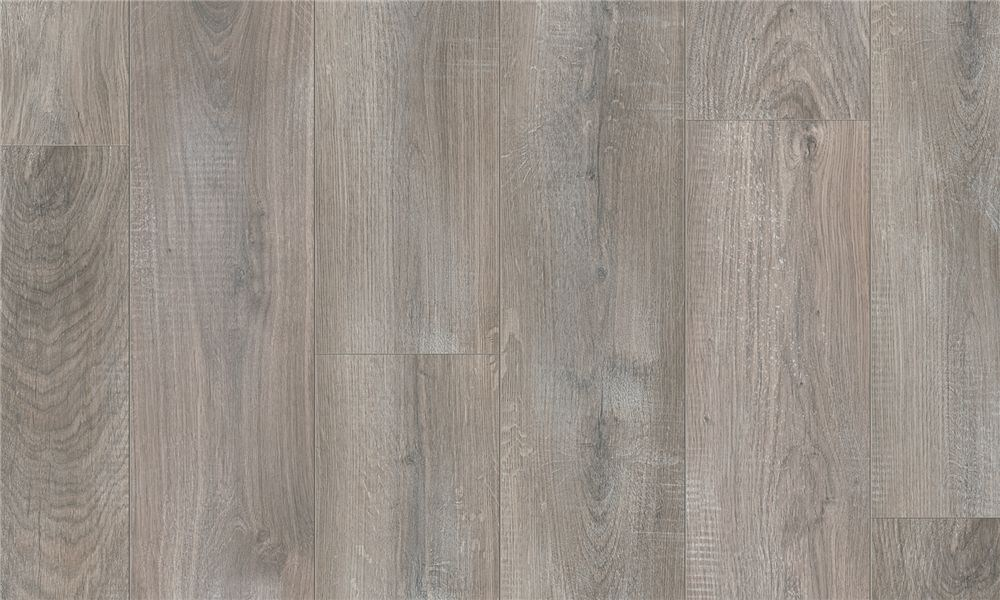 Laminate Flooring With Wood Effect Chalked Grey Oak By Pergo