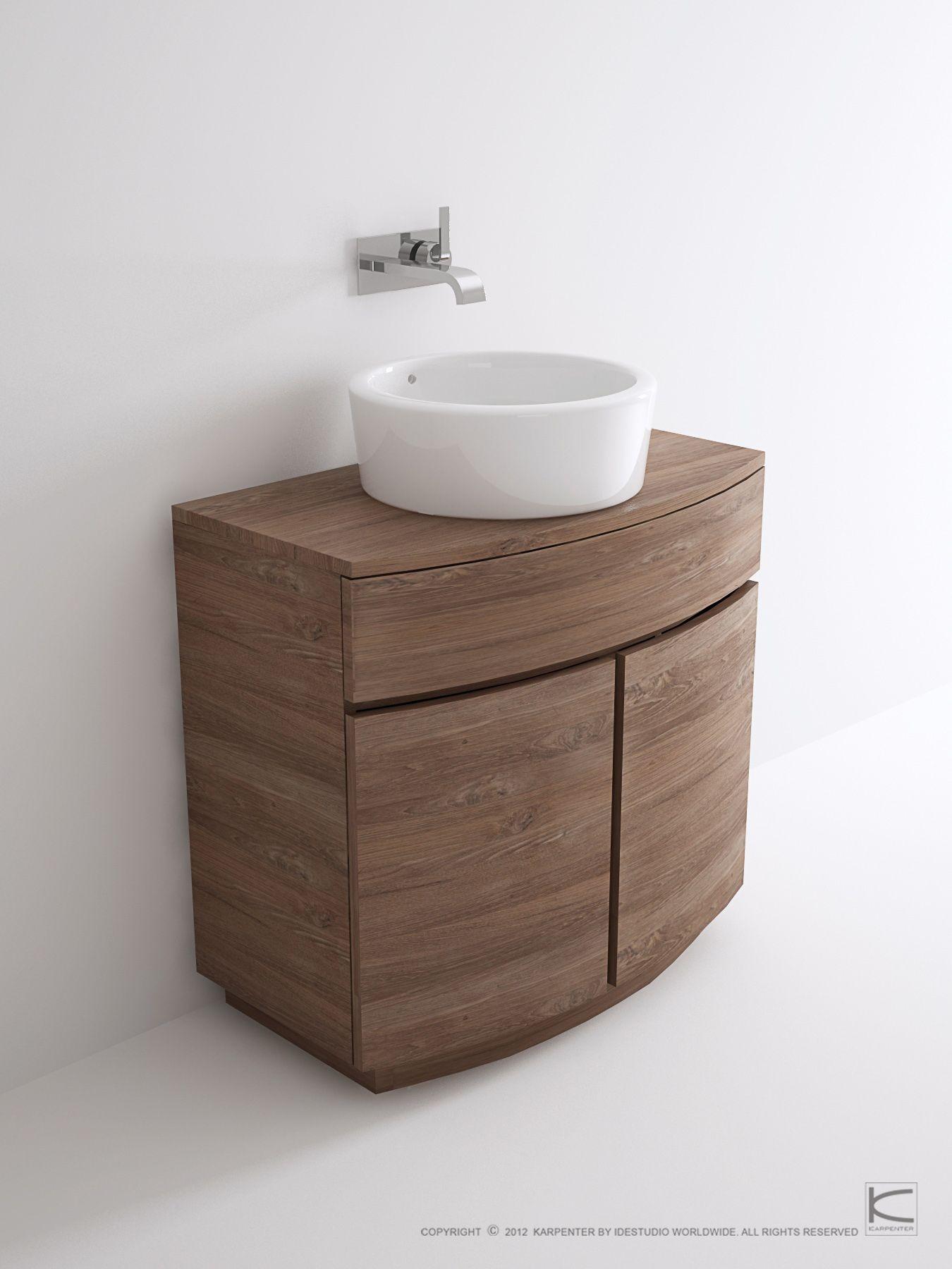 miles floor standing vanity unit by karpenter design hugues revuelta