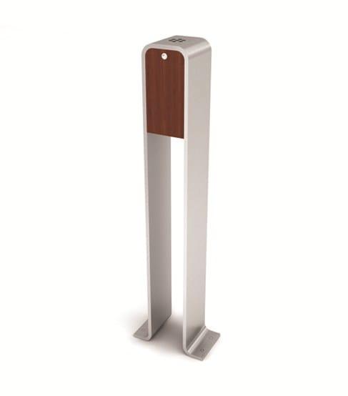 stainless steel-iroko