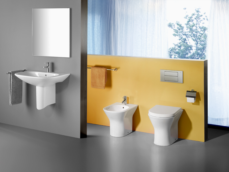 nexo h nge waschbecken by roca sanitario design antonio. Black Bedroom Furniture Sets. Home Design Ideas