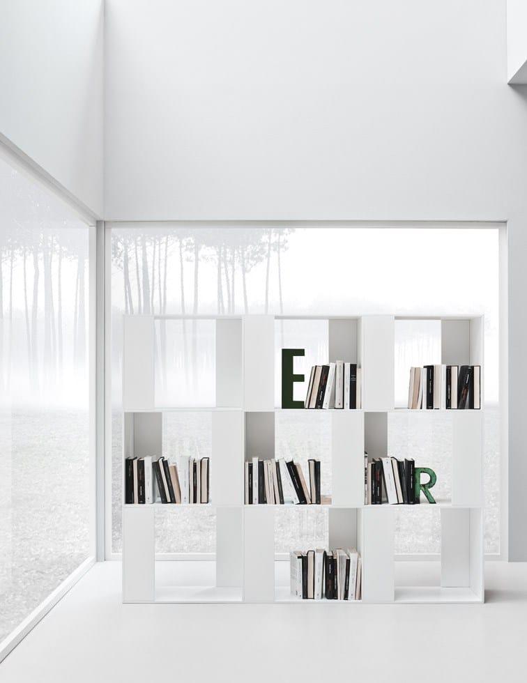 Offenes Freistehendes Bücherregal LINE K | Bücherregal By Zampieri Cucine