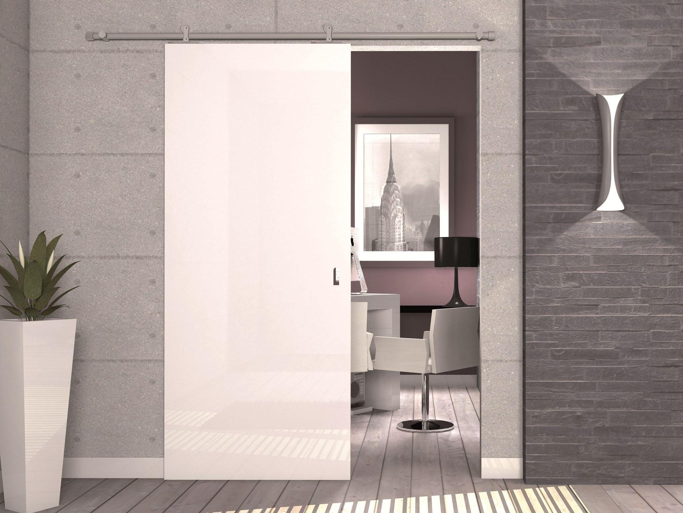 Controtelaio per porta scorrevole esterno muro KIT WOODY By PROTEK®
