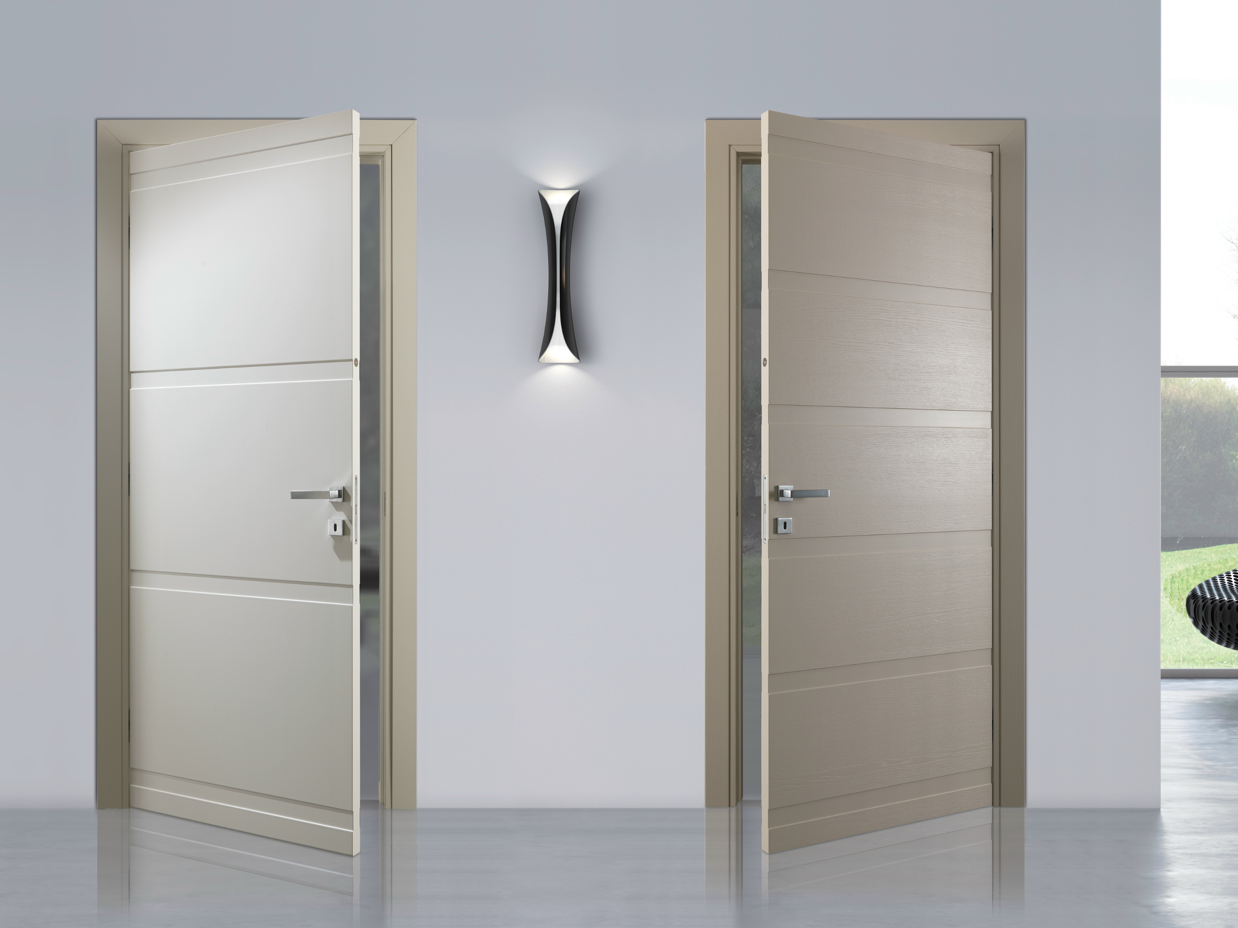 Hinged lacquered door fashion by bertolotto porte for Porte a porte clothing