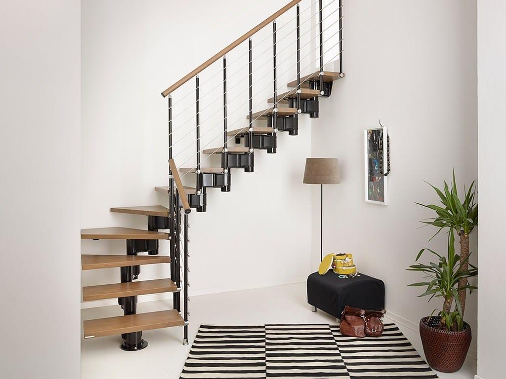 Escalier quart tournant leroy merlin lovely escalier for Escalier pas japonais tournant