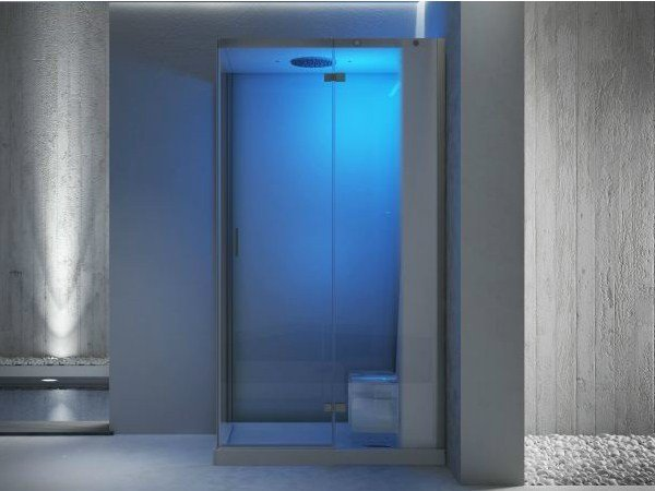 steam shower cabin cloud 100 by jacuzzi