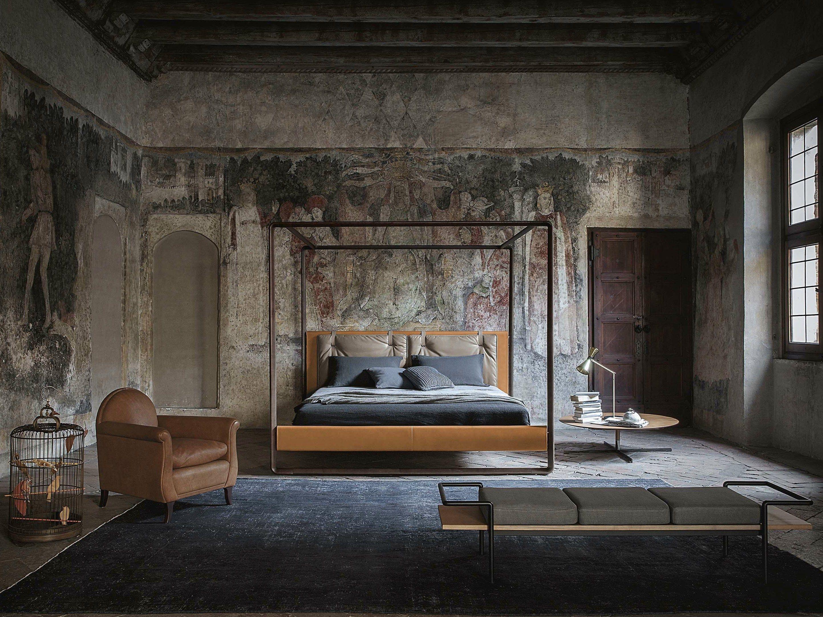 Designer himmelbett  Himmelbett VOLARE By Poltrona Frau Design Roberto Lazzeroni