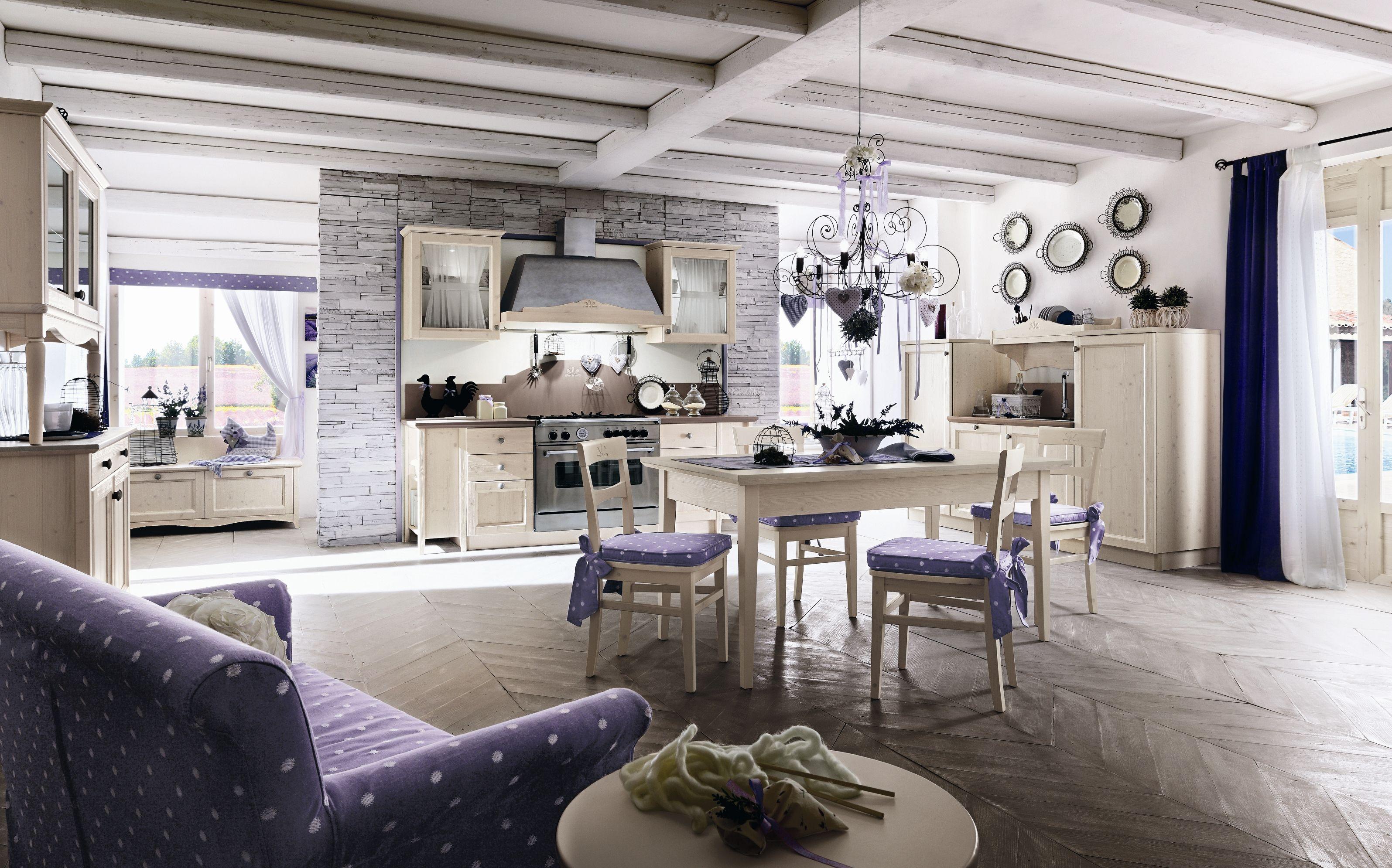 Cucina E Soggiorno Rustico arredamento rustico e moderno insieme. beautiful arredamento