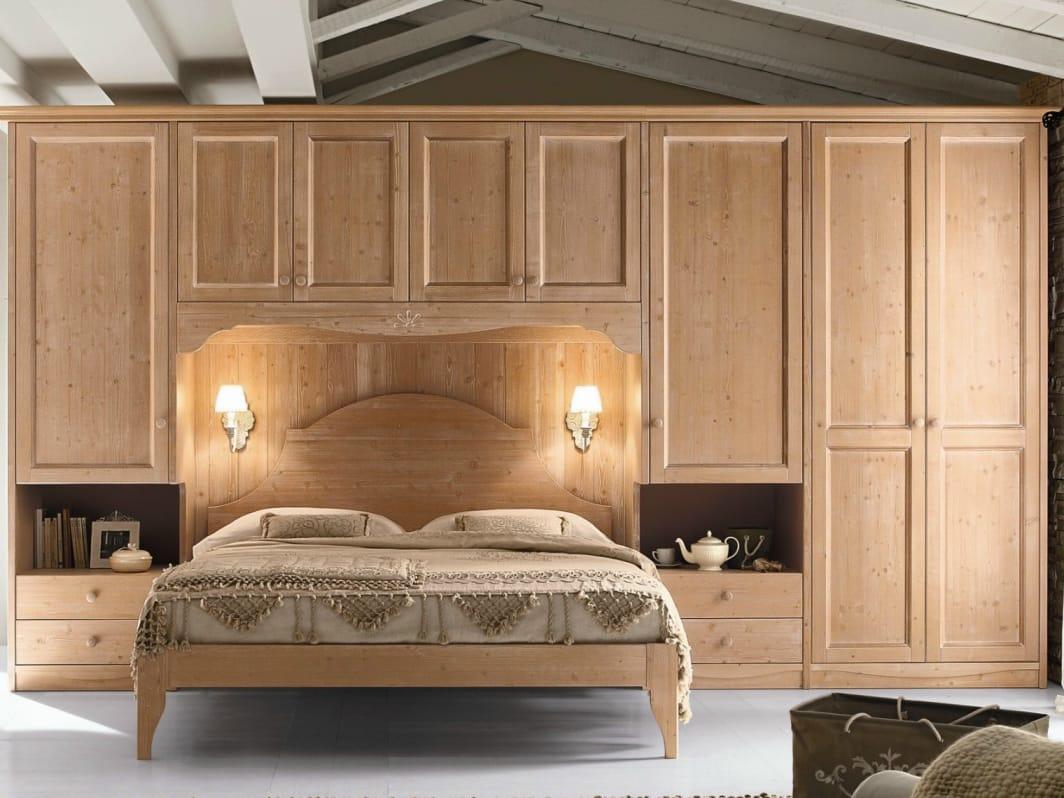 Camera da letto in legno ROMANTIC | Composizione 13 By Callesella ...