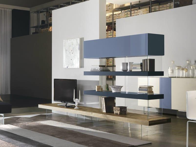 AIR | Parete attrezzata By Lago design Daniele Lago
