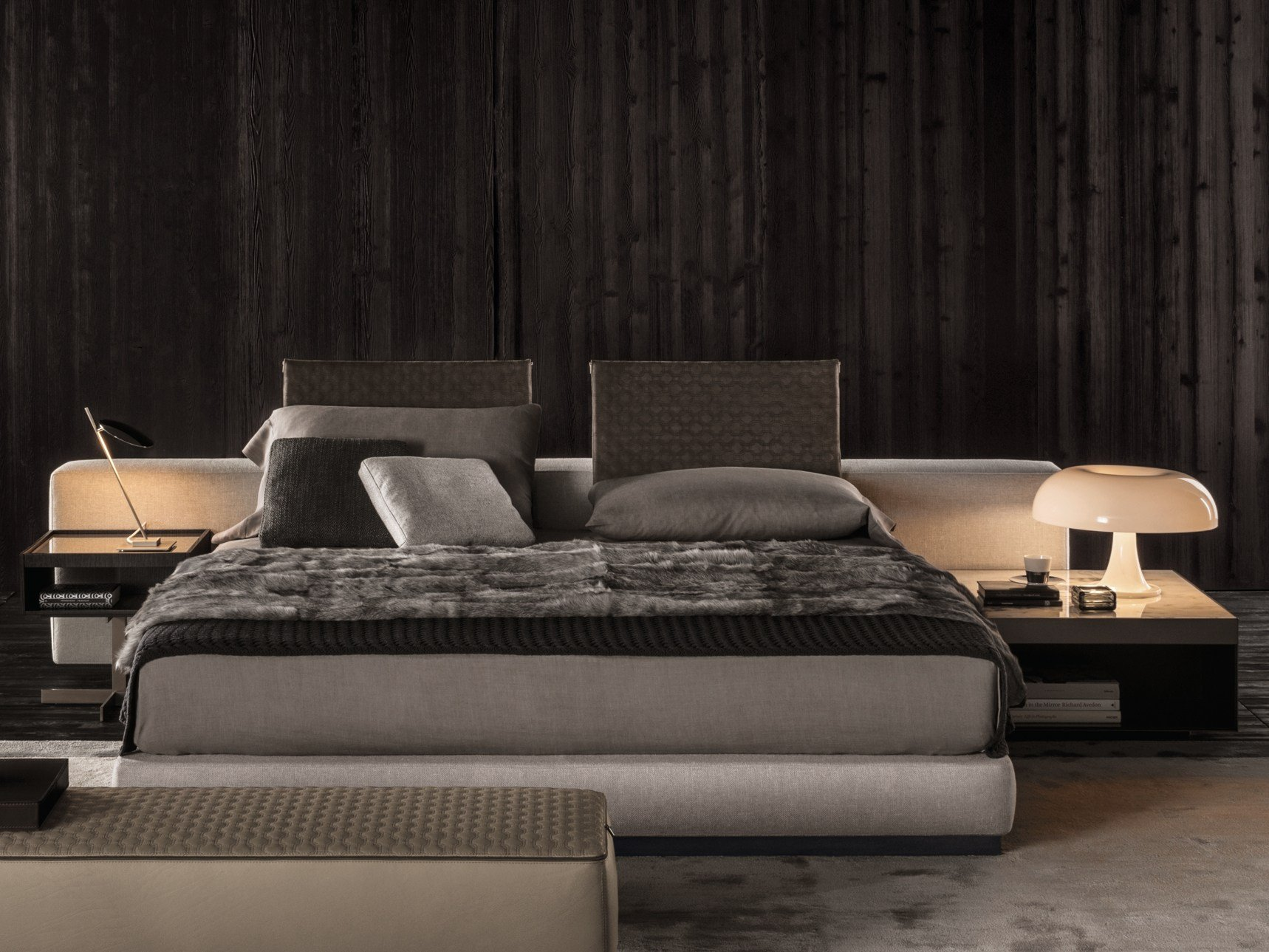 Yang Bed By Minotti