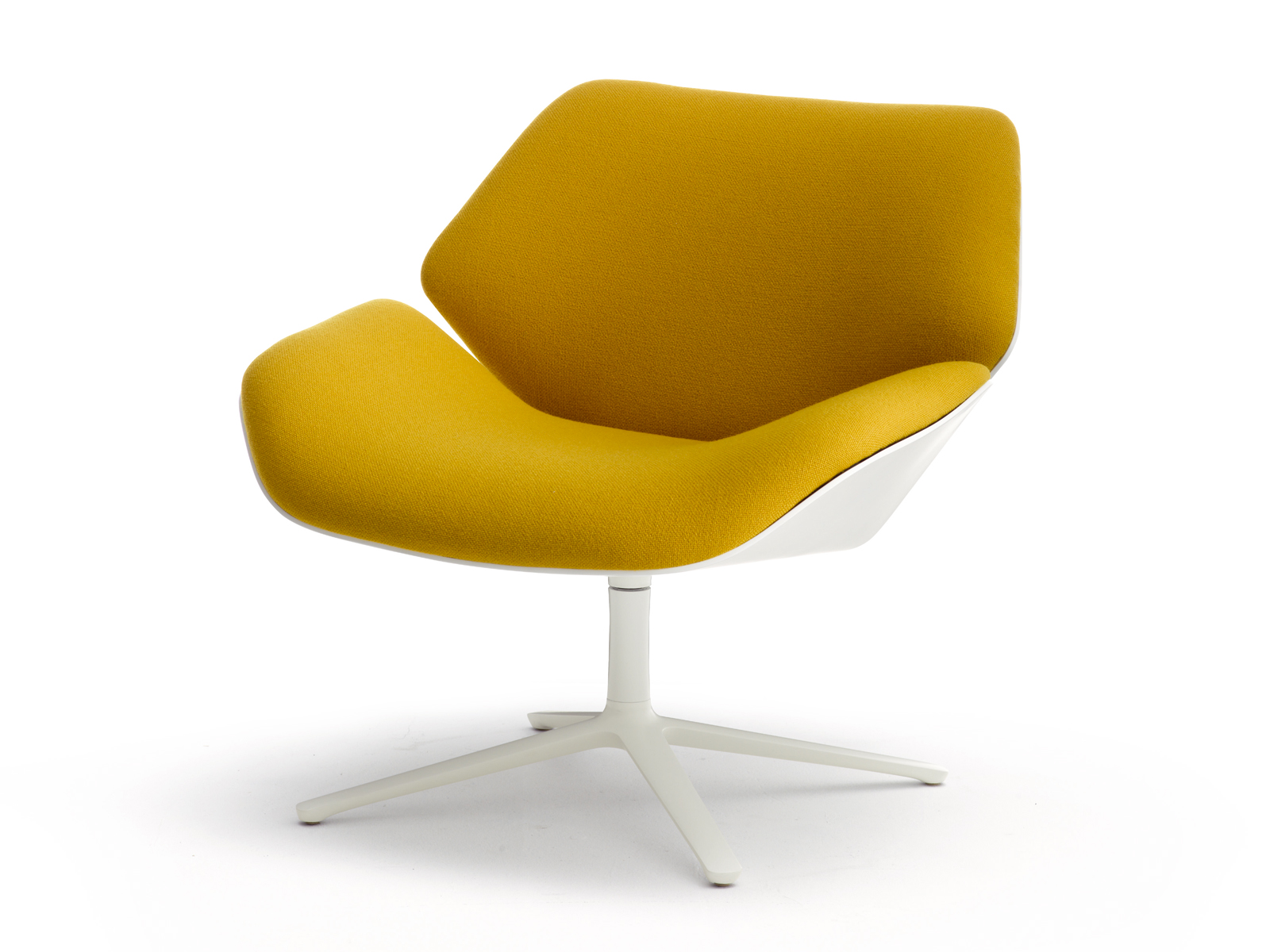 fabric armchair with footstool cordia lounge by cor design jehs laub