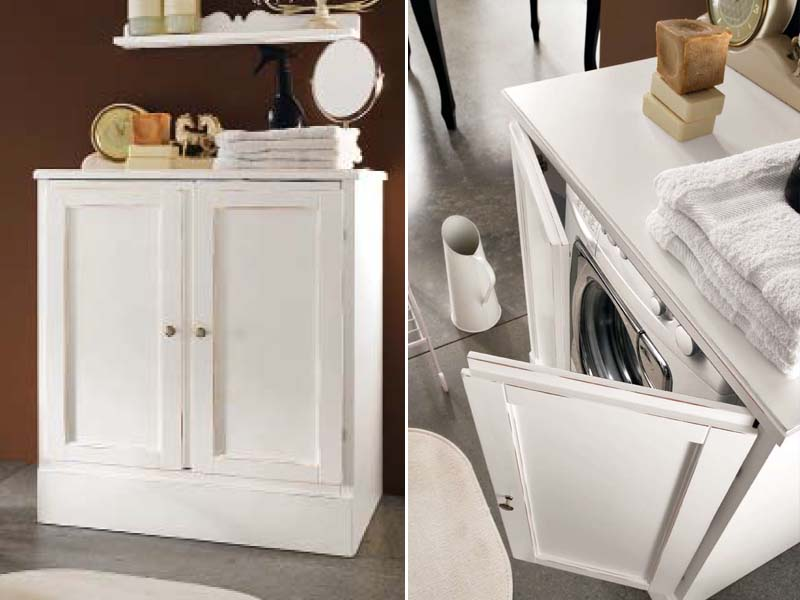 Mobile lavanderia per lavatrice YORK  Mobile lavanderia - Cerasa