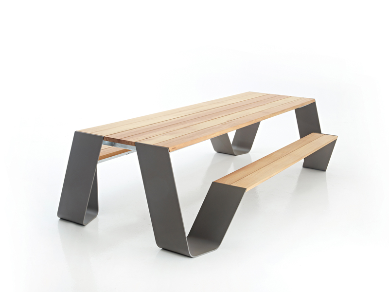 hopper table pour pique nique by extremis design dirk. Black Bedroom Furniture Sets. Home Design Ideas