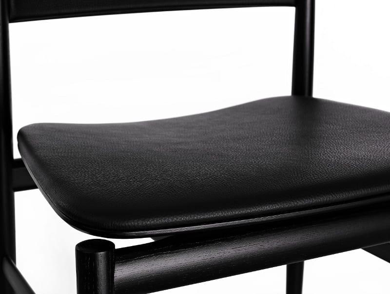 Design upholstered ash chair - Neve imbottita