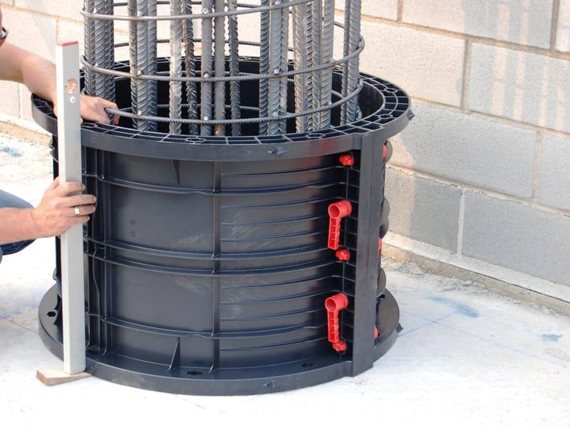 schalung und schalungssystem f r beton geotub by geoplast. Black Bedroom Furniture Sets. Home Design Ideas
