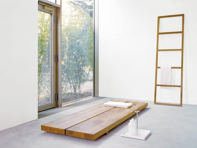 Rectangular Low Wooden Coffee Table MESA By E15 Design Philipp Mainzer,  Florian Asche