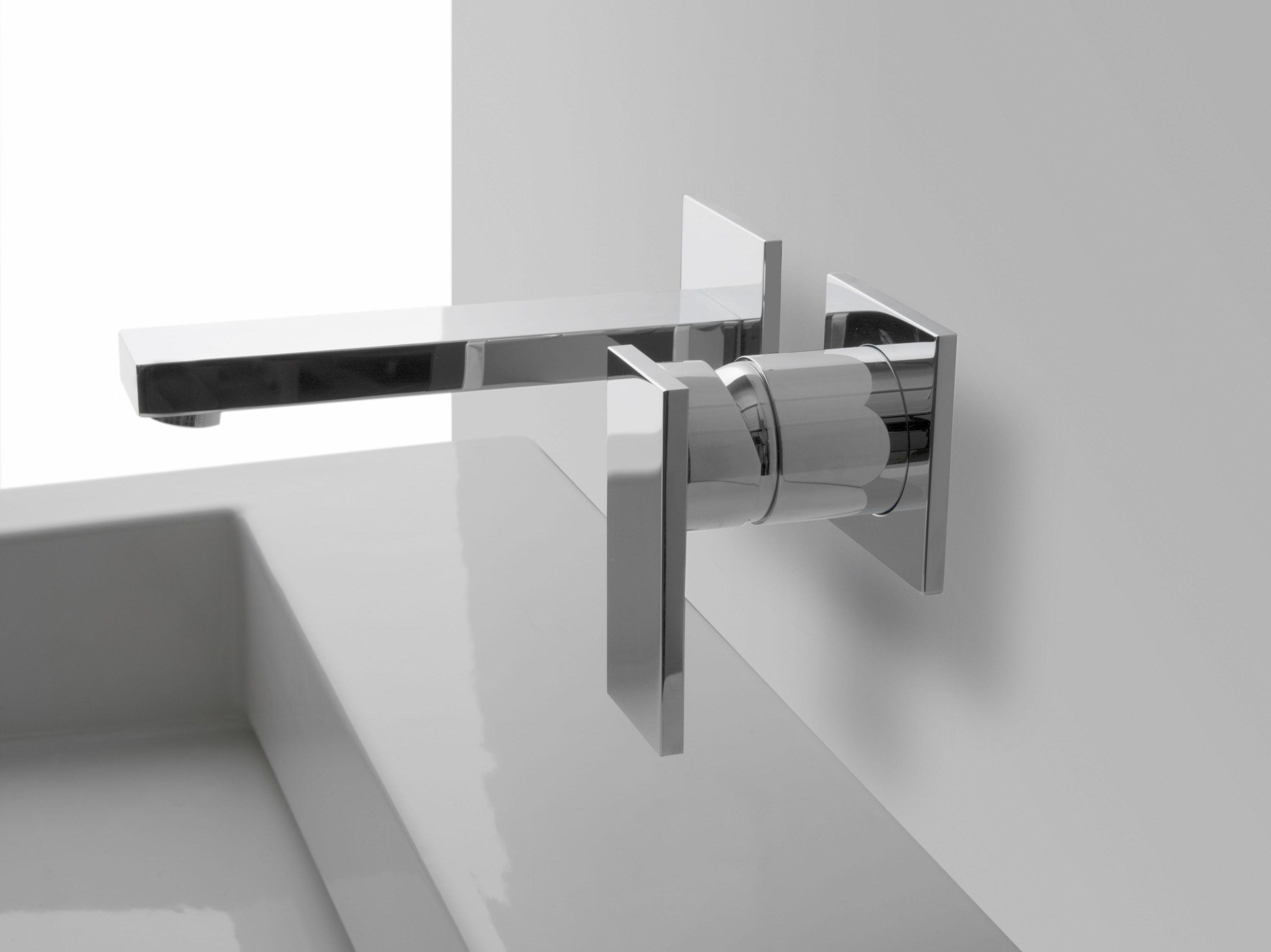 solar | rubinetto per lavabo a muro by graff europe west - Rubinetto Lavandino Bagno