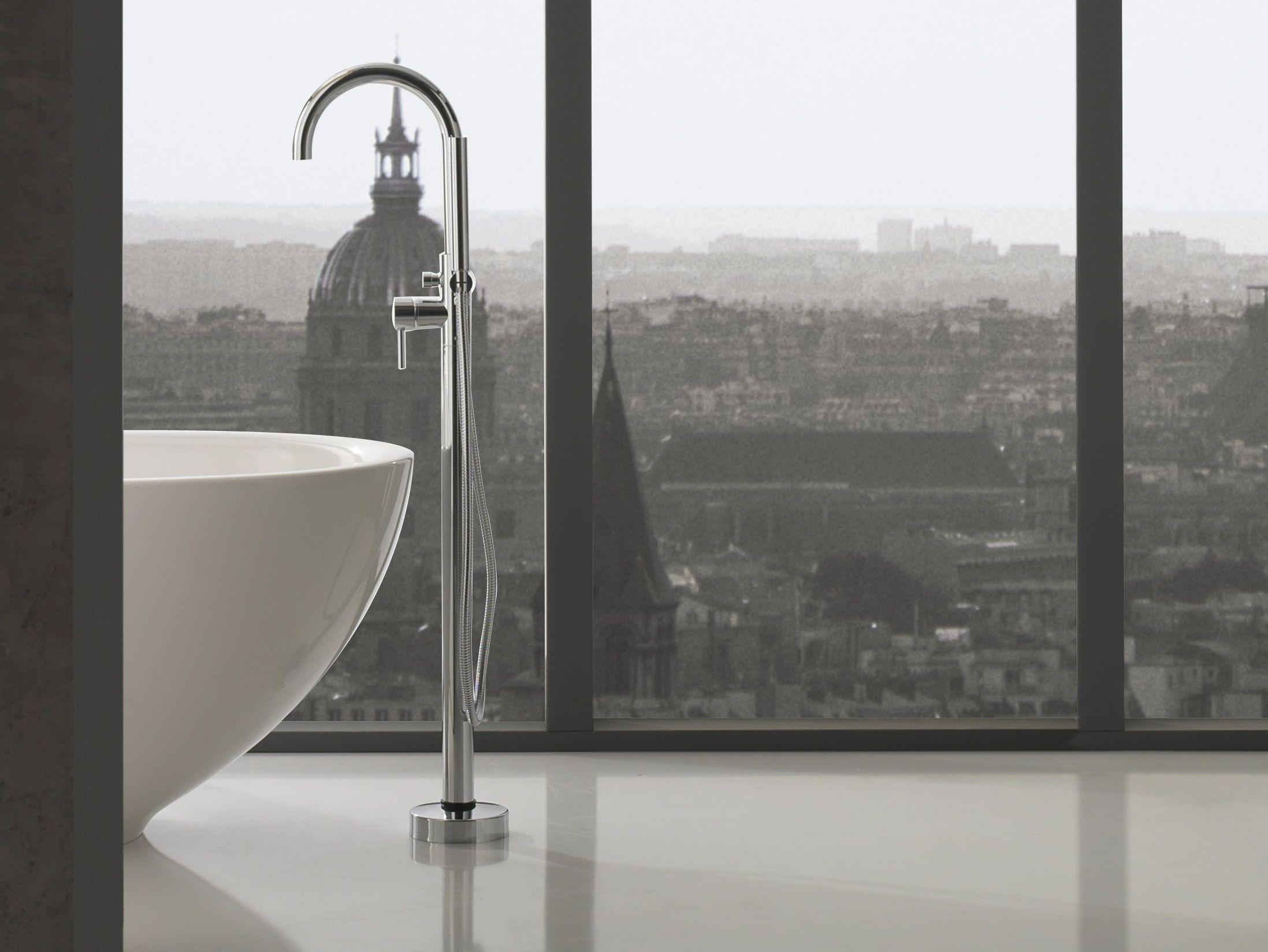 immersion | rubinetto per vasca da terra by graff europe west - Rubinetti Per Vasca Da Bagno