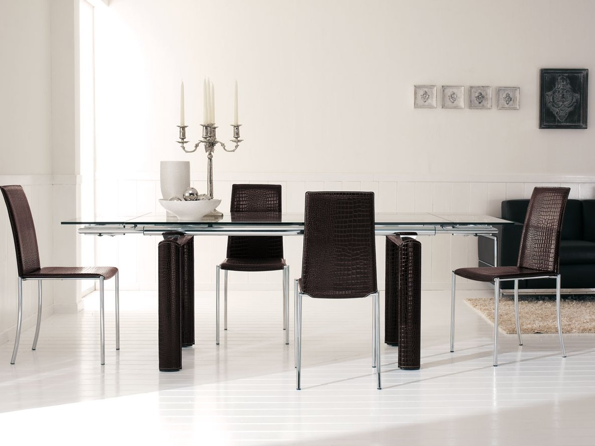 Kenya extending table by italy dream design for Table extensible keneah