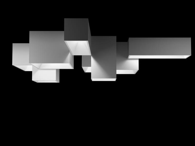 modulare deckenleuchte link xxl by vibia design ram n esteve. Black Bedroom Furniture Sets. Home Design Ideas