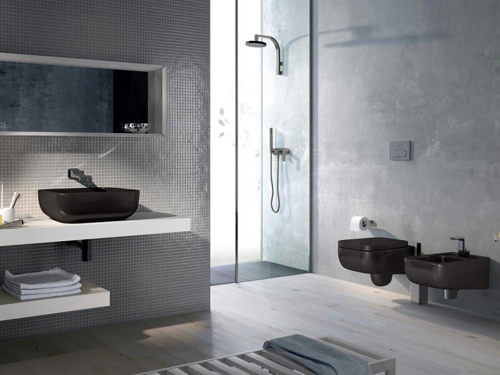 como 51 | lavabo da appoggio by ceramica flaminia - Arredo Bagno Flaminia