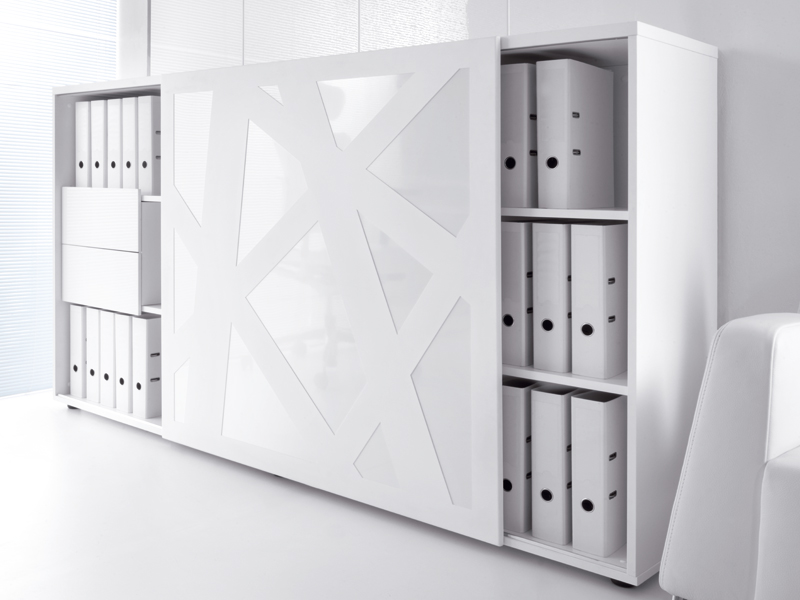 Büroschrank design  STANDARD | Low office storage unit By MDD