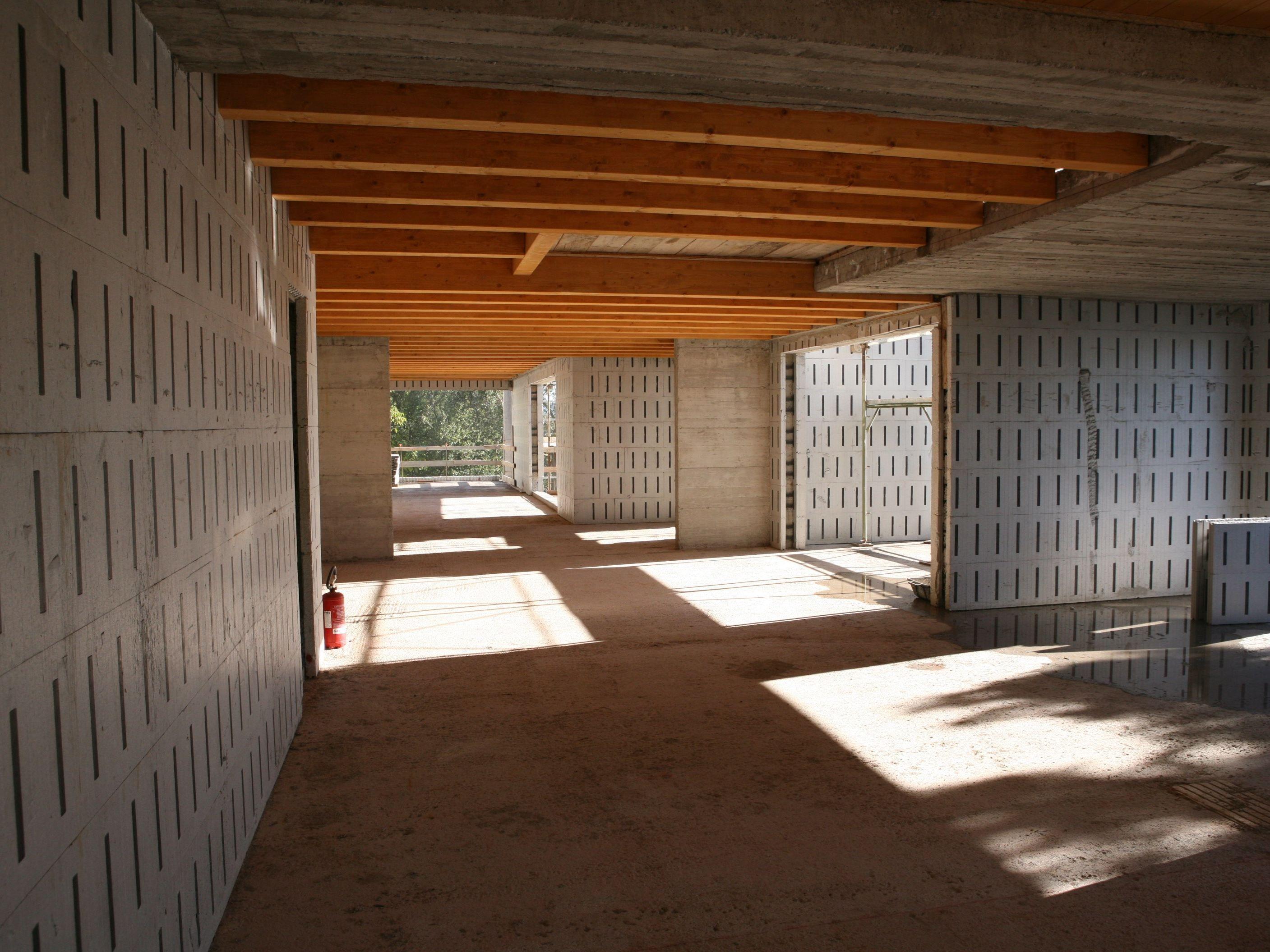 Blocco/cassero isolante in EPS per muri portanti in C.A ...