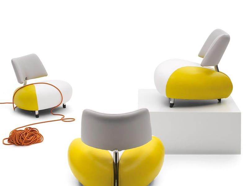 Schön Leather Armchair PALLONE By LEOLUX Design Pierre Mazairac, Karel  Boonzaaijer, Roy De Scheemaker