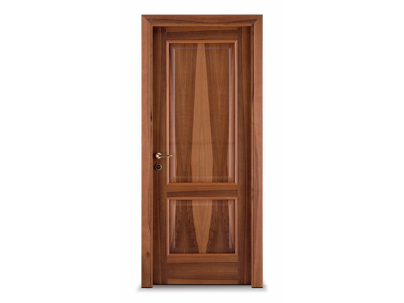 Hinged wooden door classic by ghizzi benatti for Traditional wooden door design ideas