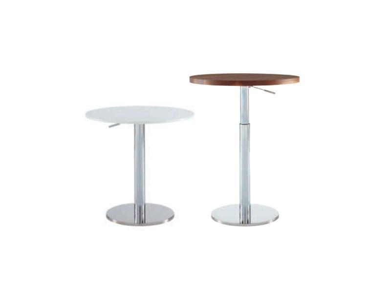 Höhenverstellbarer Runder Tisch BOBINE By Ligne Roset