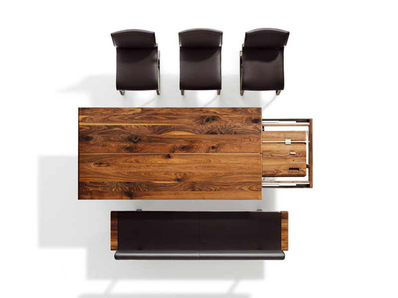 NOX | Tavolo allungabile By TEAM 7 design Jacob Strobel