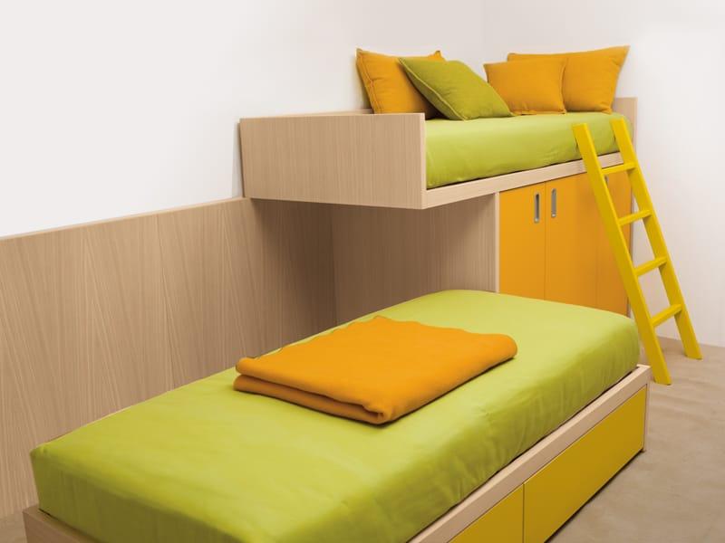 7050 letto by dearkids. Black Bedroom Furniture Sets. Home Design Ideas