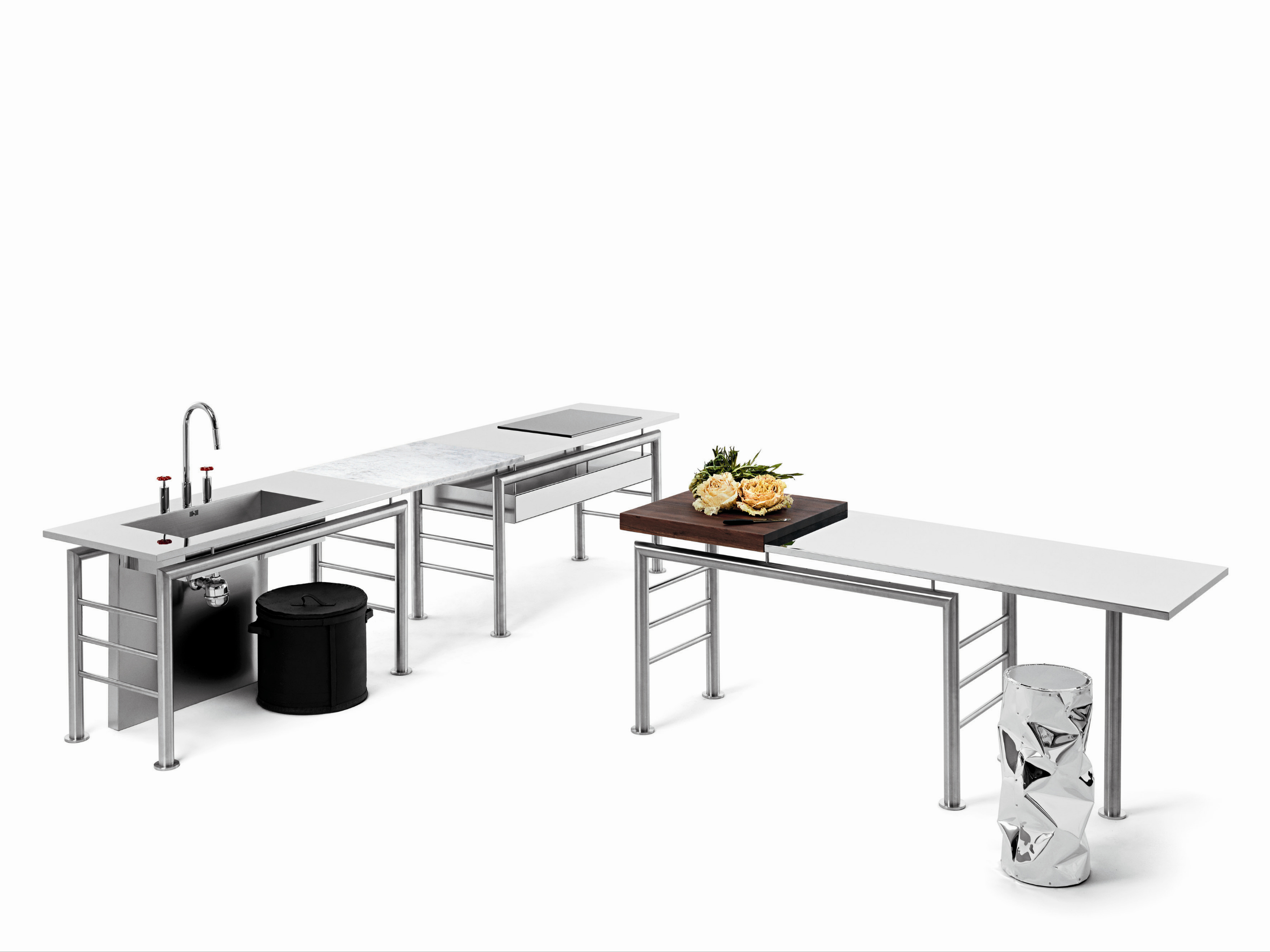 Modulo cucina freestanding componibile AXIS Ponte By Opinion ...