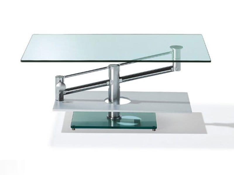Beistelltisch glas höhenverstellbar  Höhenverstellbare Couchtische aus Glas | Archiproducts