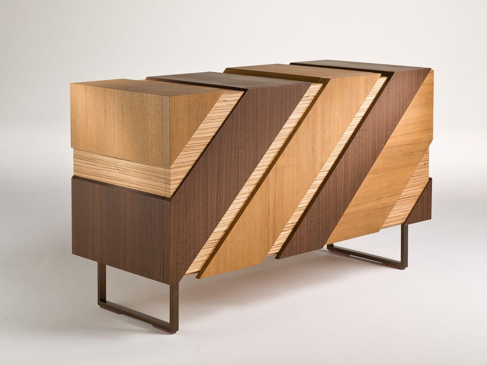 Sideboard design holz  Sideboard aus Holz mit Flügeltüren SLIDE By i 4 Mariani Design ...