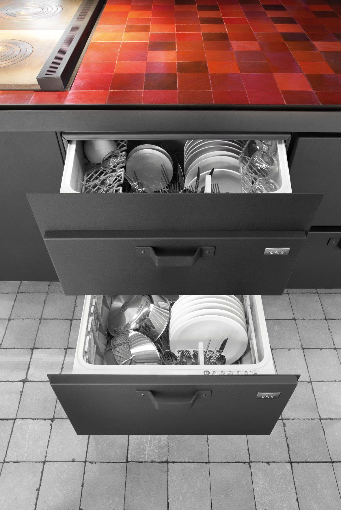 Toll Küche Aus Stahl Mit Kücheninsel MINÀ PROFESSIONAL By Minacciolo Design  Silvio Stefani