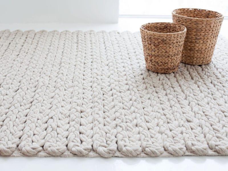 Teppich wolle  TRENZAS | Rechteckiger Teppich By GAN Design José Antonio Gandía ...