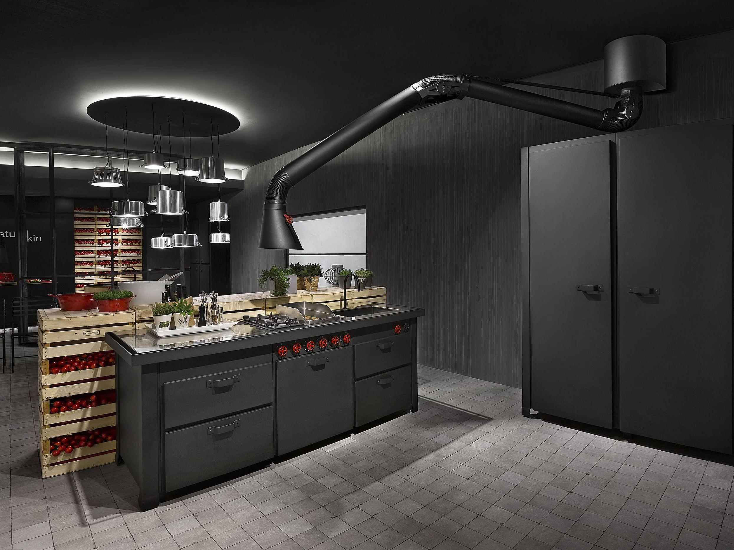 Cappe Cucina Design. Description For Beautiful Idee Pittura Cucina ...