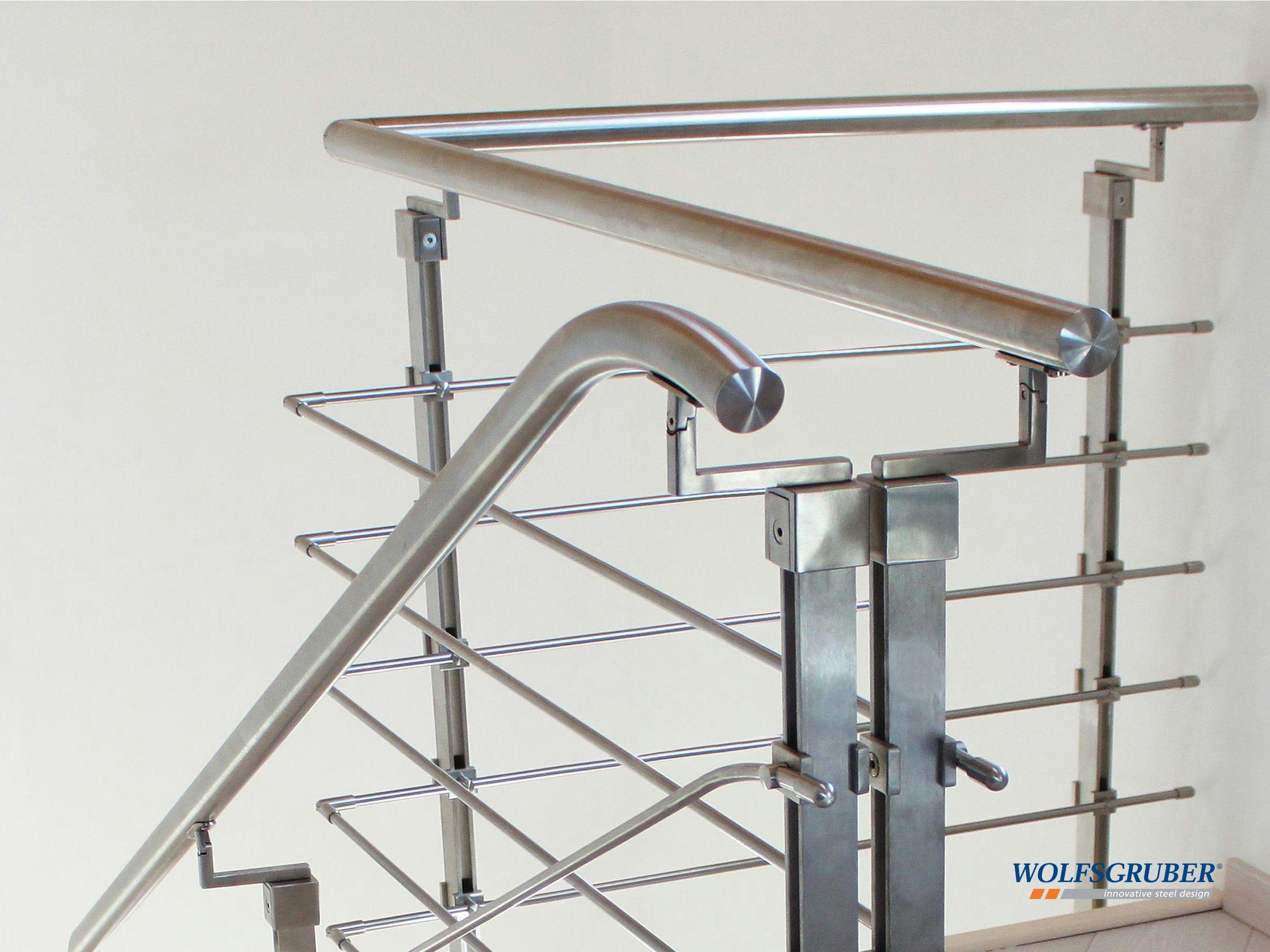 Baranda de acero inoxidable inox step system by wolfsgruber - Escaleras de acero ...
