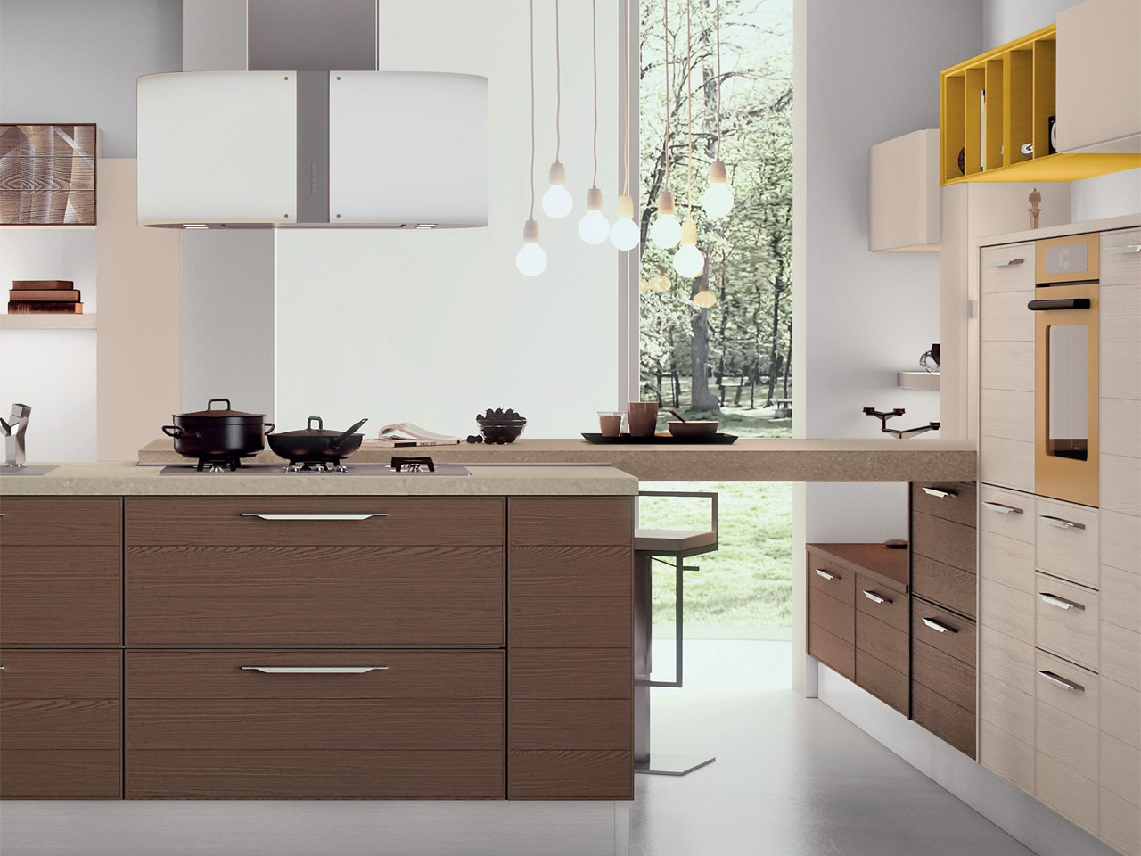 Emejing Cucina Adele Lube Contemporary - Design & Ideas 2017 ...