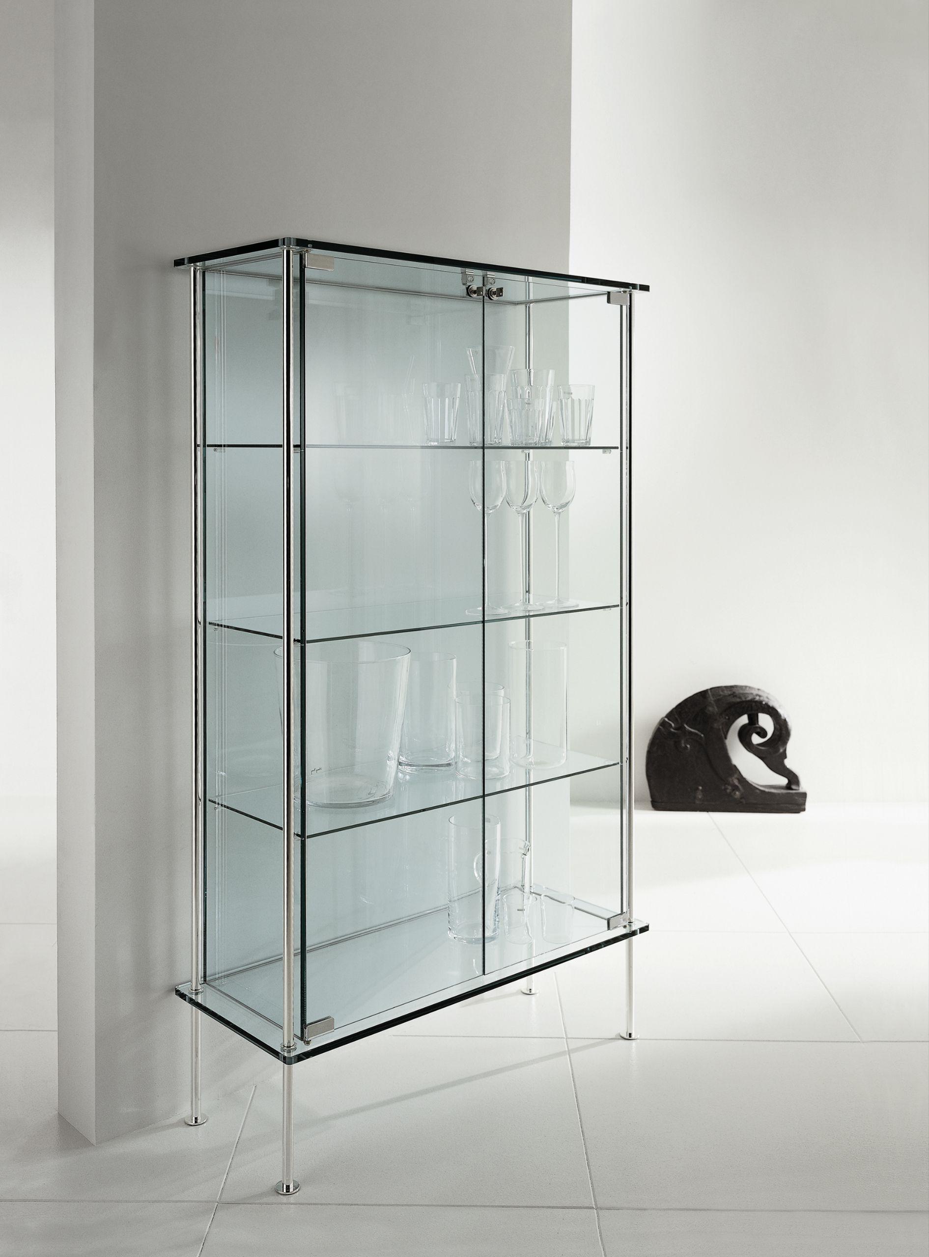 glass display cabinet shine by tonelli design design
